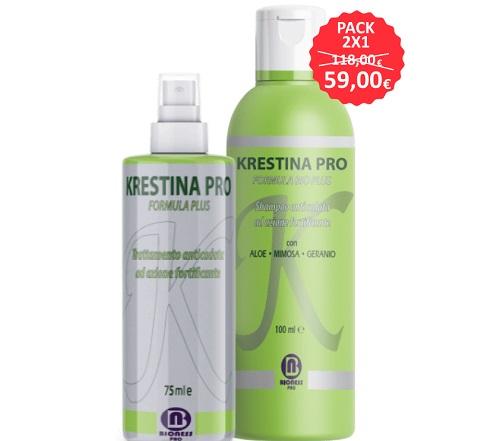 Krestina contro la caduta dei capelli